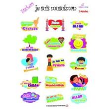Stickers - Je suis musulman
